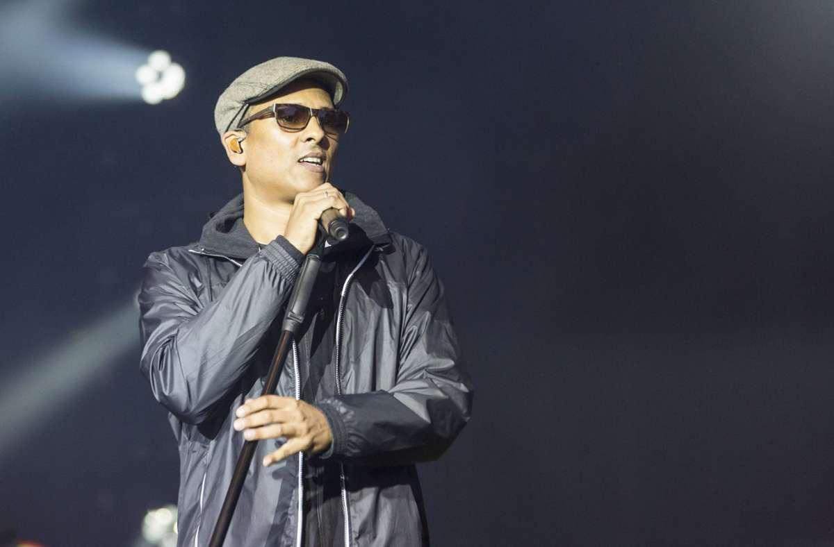 Xavier Naidoo wird nicht in Hof auftreten. Foto: imago images/POP-EYE/Ben Kriemann via www.imago-images.de