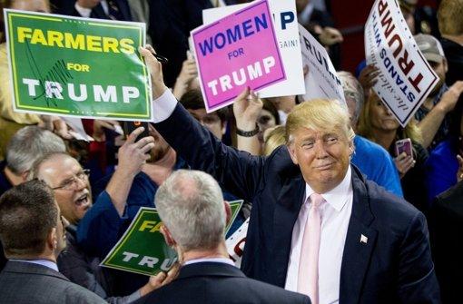 So stehen die Chancen von Trumps Konkurrenten