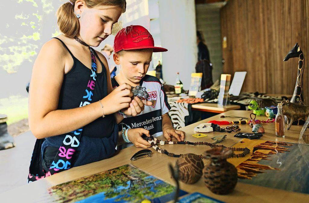 Ohne erhobenen Zeigefinger sollen Kinder an das Thema Artenschutz herangeführt werden. Foto: Lichtgut/Verena Ecker