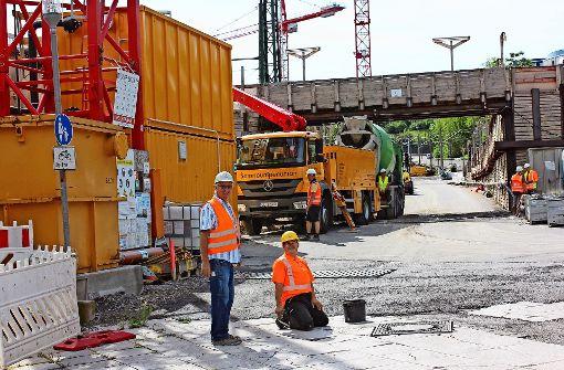 Tag der offenen Baustelle am Bahnhof Feuerbach