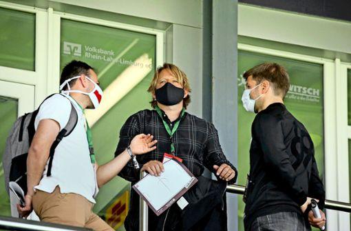 Wenn am Stadioneingang Fieber gemessen wird