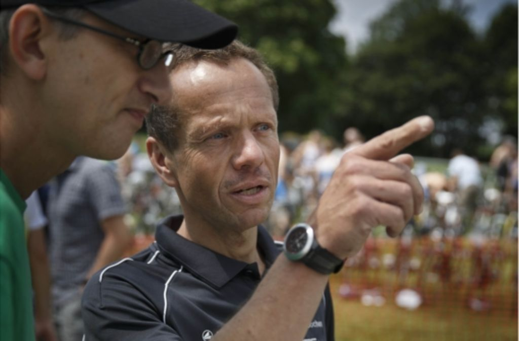 Cheforganisator Jochen Schultheiß (rechts) und Sprecher Achim Seiter Foto: Stoppel