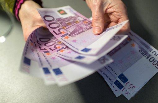 Geht's dem 500-Euro-Schein an den Kragen?