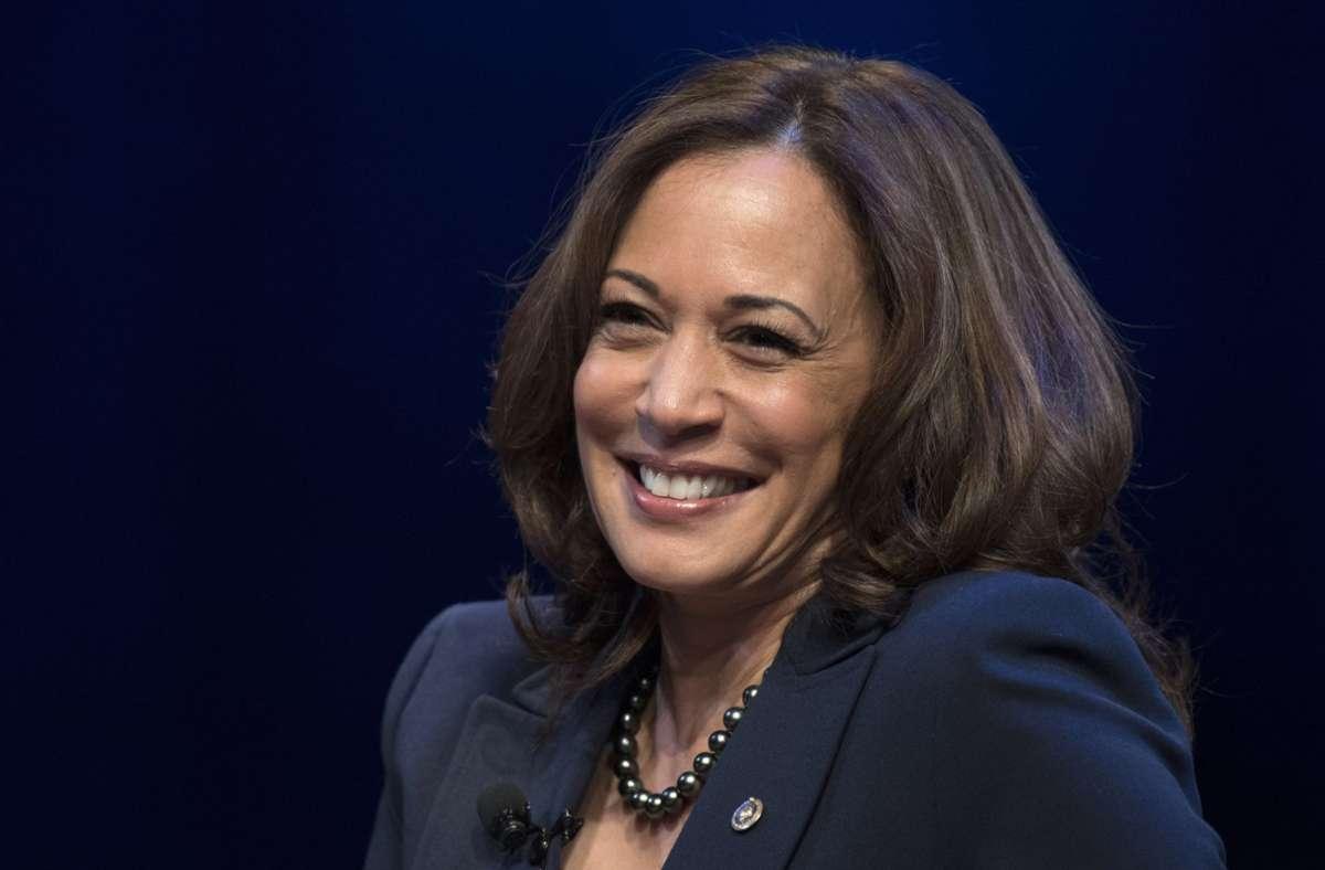 Kamala Harris ist nun offiziell Vize-Kandidatin der US-Demokraten. Foto: AP/Sait Serkan Gurbuz