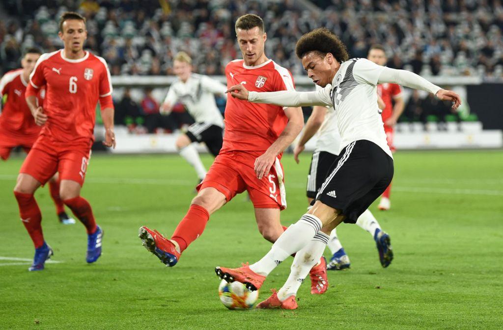 Deutschland Serbien Fußball