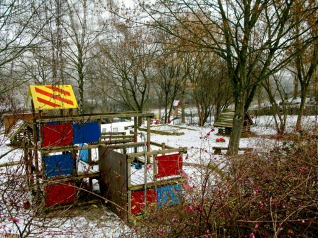 Der Kindergarten Neuhäuser Bach bekommt einen Erweiterungsbau. Foto: Jens Noll