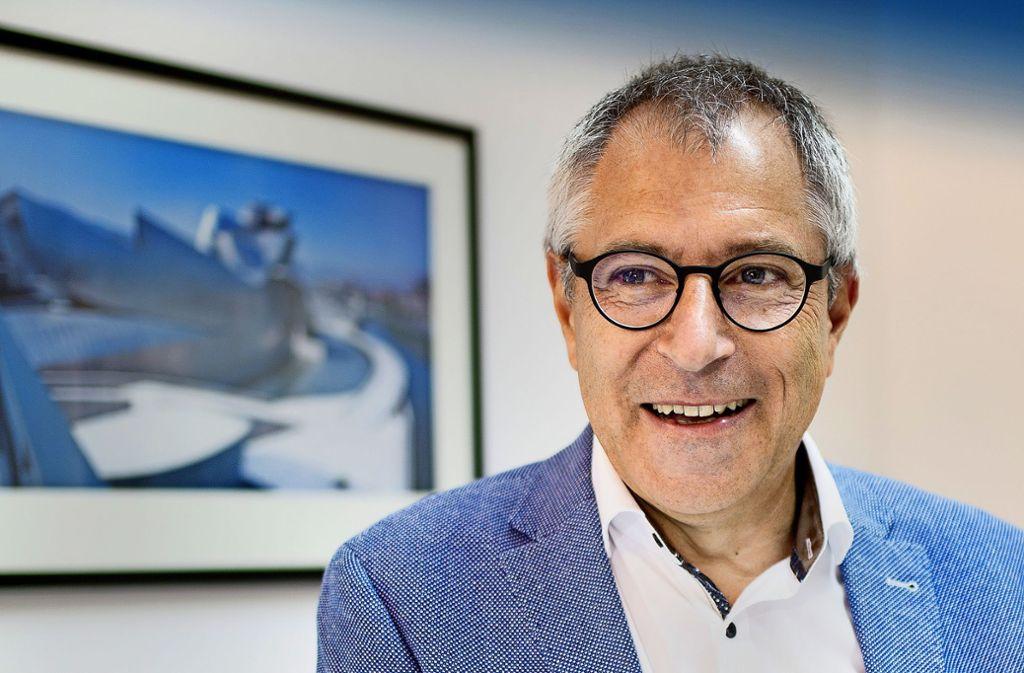 Christof Wolfmaier, hat  seine Karriere als Lehrling  bei Karosserie Baur begonnen, wurde Konstrukteur  für Porsche  und wechselte dann an die Hochschule. . Foto: Horst Rudel