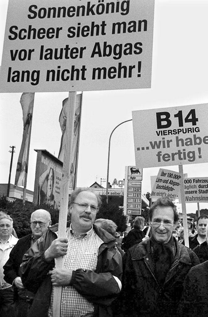 Ende der 90er-Jahre sind viele Bürger in Winnenden... Foto: Weise
