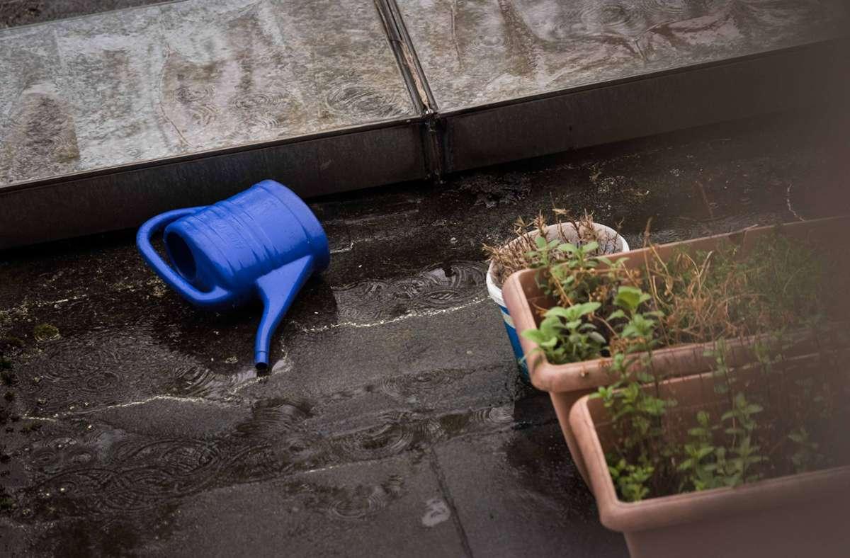 Auch am Montag verbessert sich das Wetter nicht. (Symbolfoto) Foto: Lichtgut/Max Kovalenko