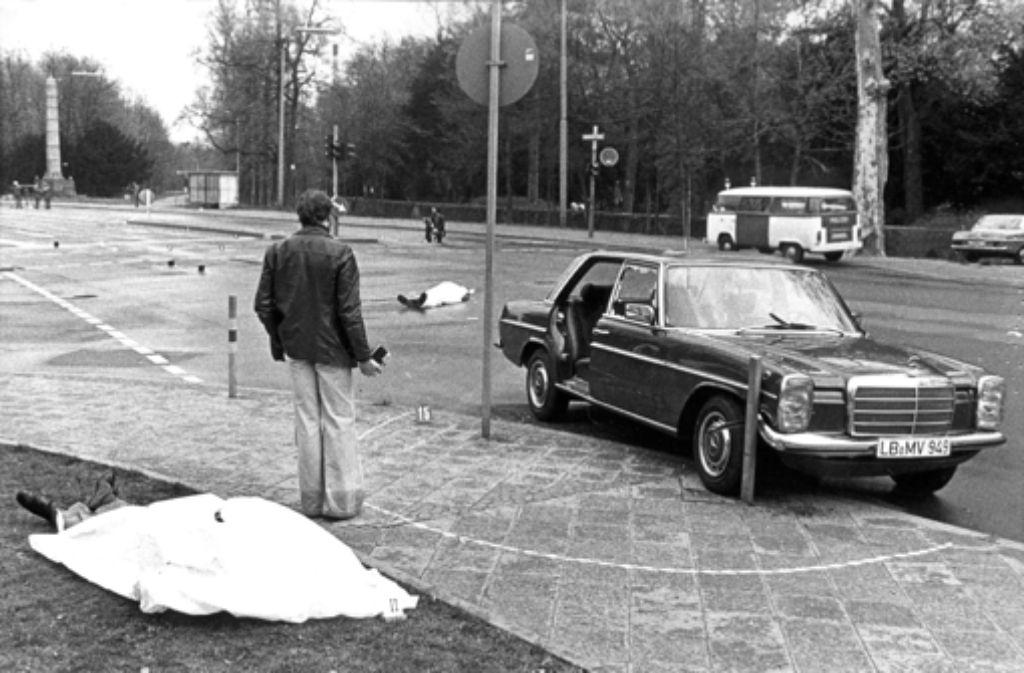 Der Mord an Generalbundesanwalt Sigfried Buback und seinen Begleitern ist bis heute nicht aufgeklärt. Nun sind die Ermittlungen eingestellt worden. Foto: dpa