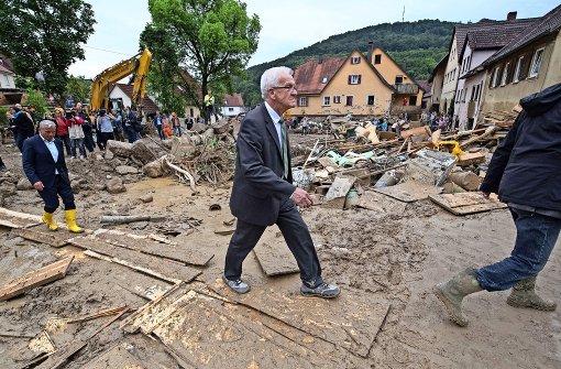 Kretschmann trauert mit Schwäbisch Gmünd