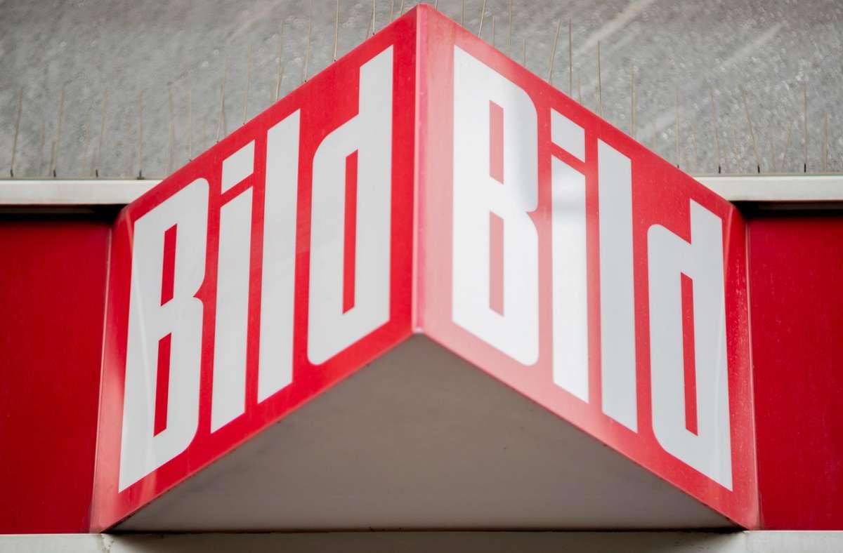 """Bald ist es soweit: """"Bild"""" wird auch als TV-Sender   aktiv. Foto: dpa/Christoph Soeder"""