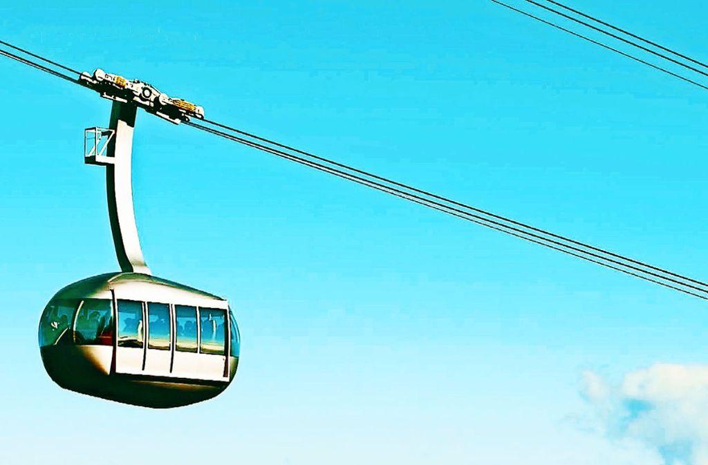 Eine Seilbahn könnte den öffentlichen Nahverkehr ergänzen. Foto:
