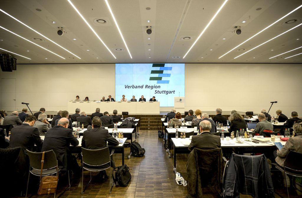 Die Regionalversammlung hier bei einer Sitzung in Stuttgart. Foto: Lichtgut/Leif Piechowski