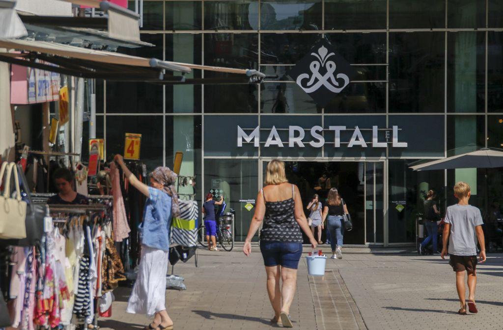 Im Marstall gibt es wohl noch in diesem Jahr ein neues Geschäft zu entdecken. Foto: factum/Weise