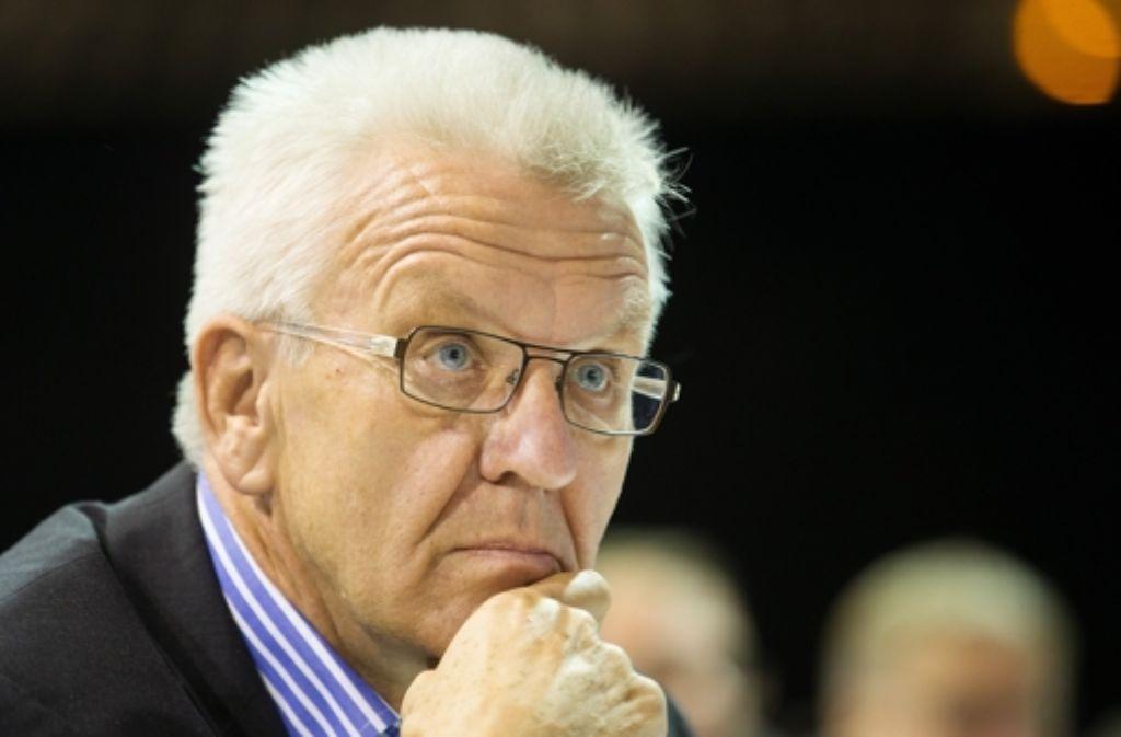 Der Staat müsse die Religion fördern, nicht zuletzt aus eigenem Interesse, fordert Ministerpräsident Winfried Kretschmann (Grüne). Foto: