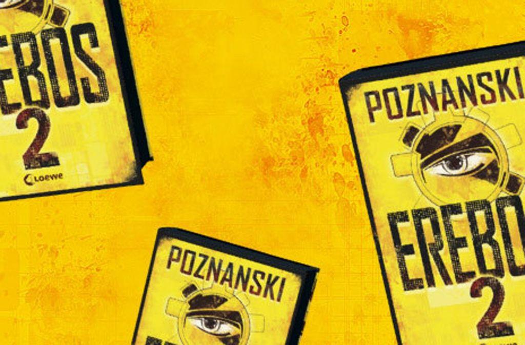 """Der Roman """"Erebos 2"""" von   Ursula Poznanski ist im Loewe-Verlag (512 Seiten,  19,95 Euro) erschienen. Foto: Verlag"""