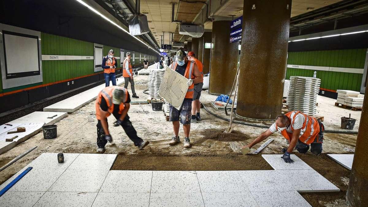 """""""Schock"""" -   Bahn braucht zwei Jahre länger"""