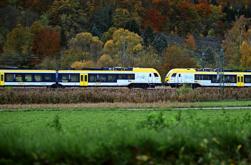 Es läuft noch längst nicht alles rund mit den neuen Flirt-Zügen auf der Remsbahn Foto: Gottfried Stoppel