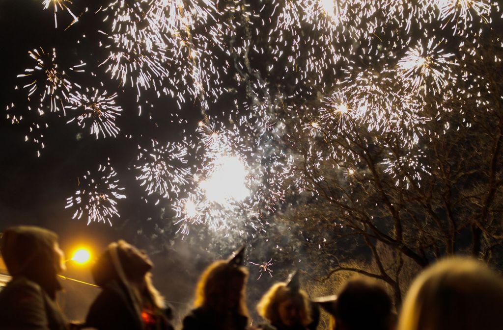 Dank des klaren Wetters kann die Silvesternacht so richtig genossen werden. Foto: Lichtgut/Verena Ecker/Lichtgut/Verena Ecker