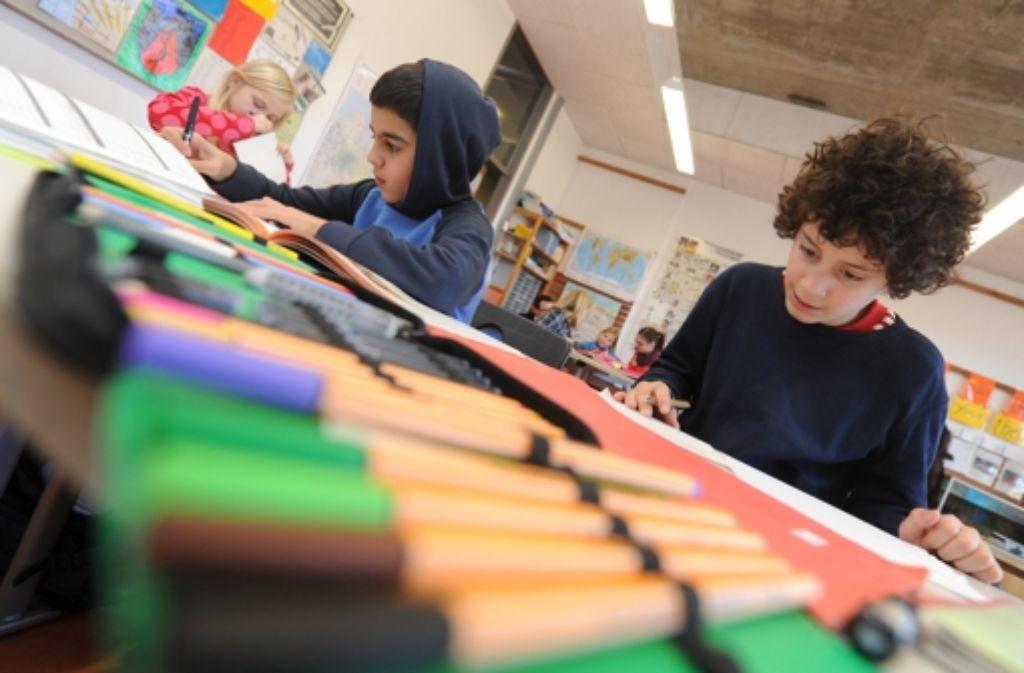 Nicht jede Schulart taugt für jeden Schüler. Manchmal stellt sich der Schulerfolg auch erst nach einem Wechsel ein. Foto: dpa