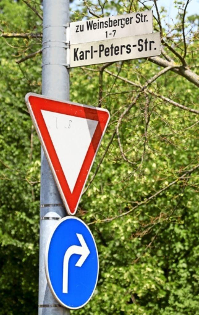 Die Karl-Peters-Straße könnte einem neuen Namensgeber gewidmet werden – und ihren Namen trotzdem behalten. Foto: factum/Granville