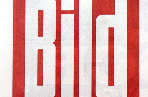 Auf der ersten Seite der Bild-Zeitung wird künftig nicht mehr das Seite-1-Girl zu sehen sein. Foto: dapd