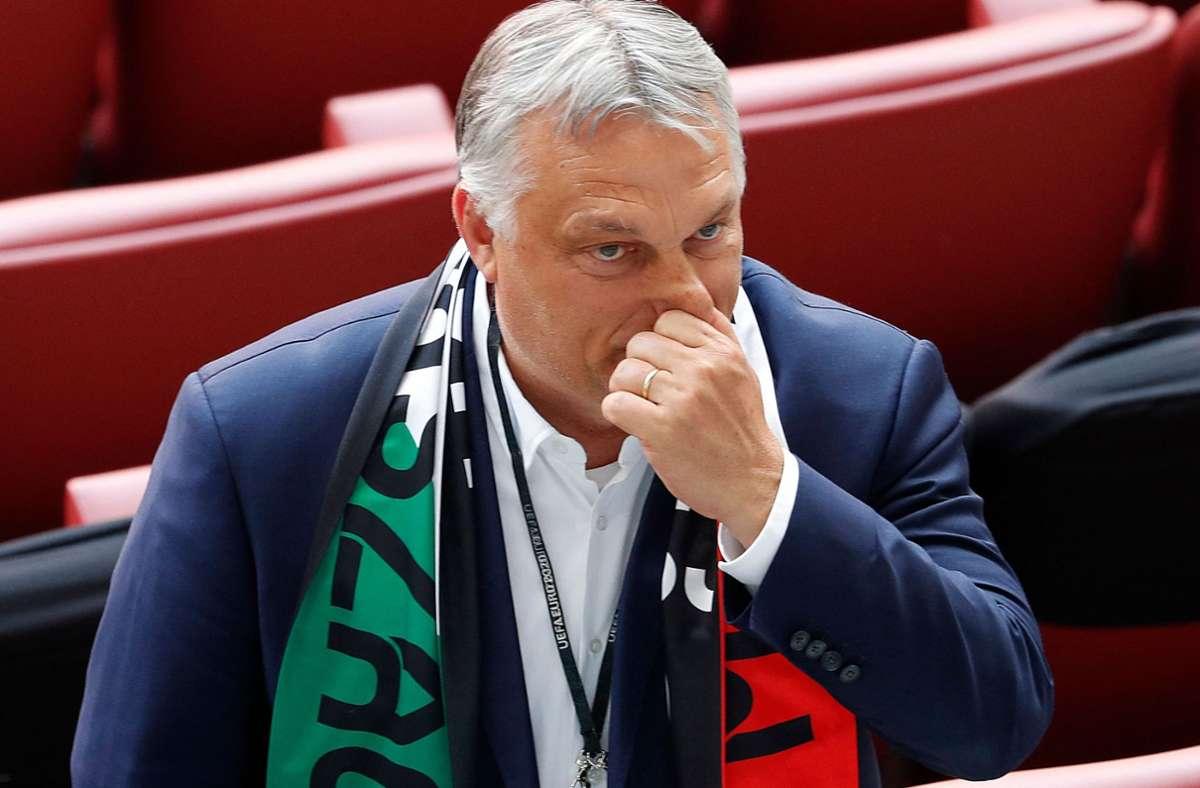 Ministerpräsident Viktor Orban gilt als großer Unterstützer des Gesetztes. Foto: AFP/LASZLO BALOGH