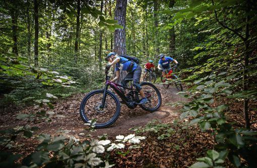 Der erste legale Mountainbike-Trail im Kreis