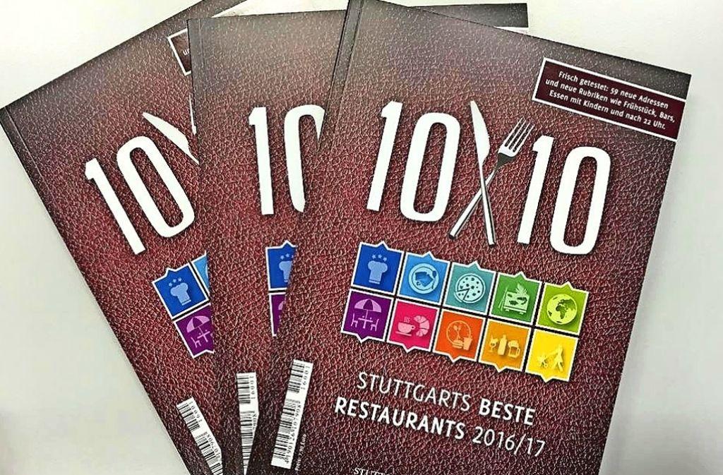 Der Gastroführer 10x10 versammelt Stuttgarts beste Restaurants. Foto: Lichtgut/Achim Zweygarth