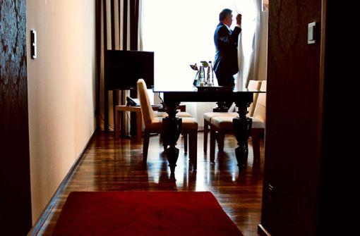 Ein Blick  hinter die Kulissen des Luxushotels