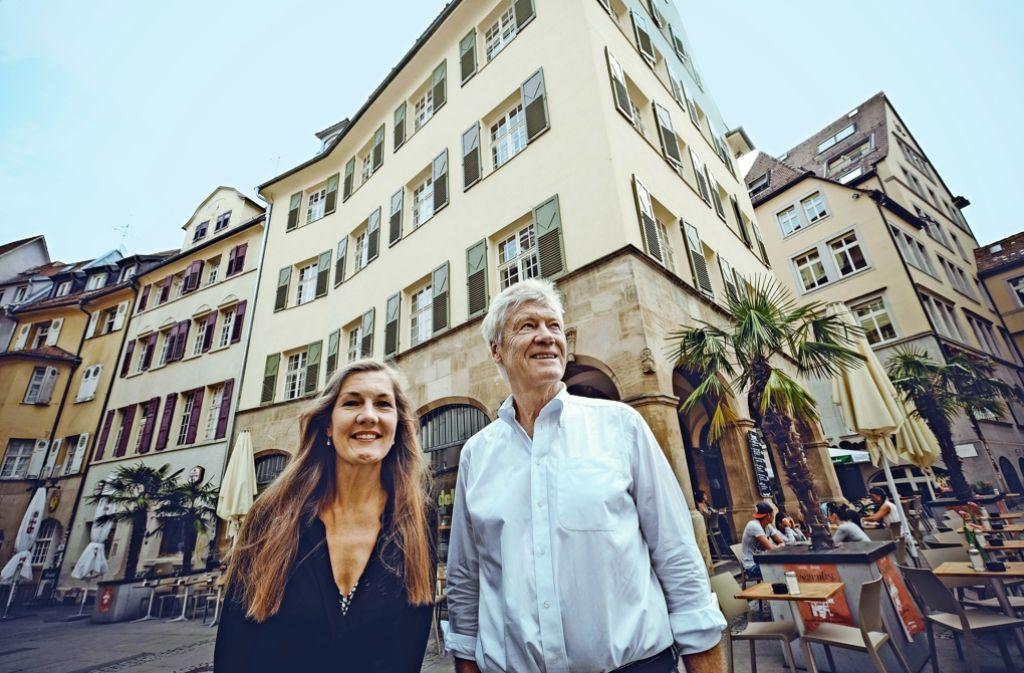 """Veronika und Michael Kienzle: """"Das Leben mit Tagesbesuchern aus der Region ist schwierig."""" Foto: Lg/Piechowski"""