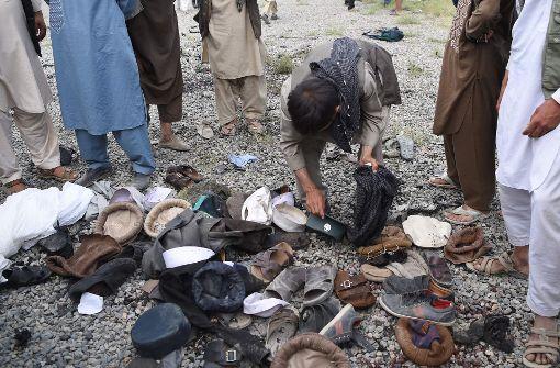 Viele Tote bei Explosion auf Beerdigung