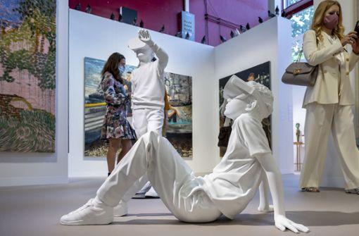 Kunstmesse startet mit Millionen-Verkäufen