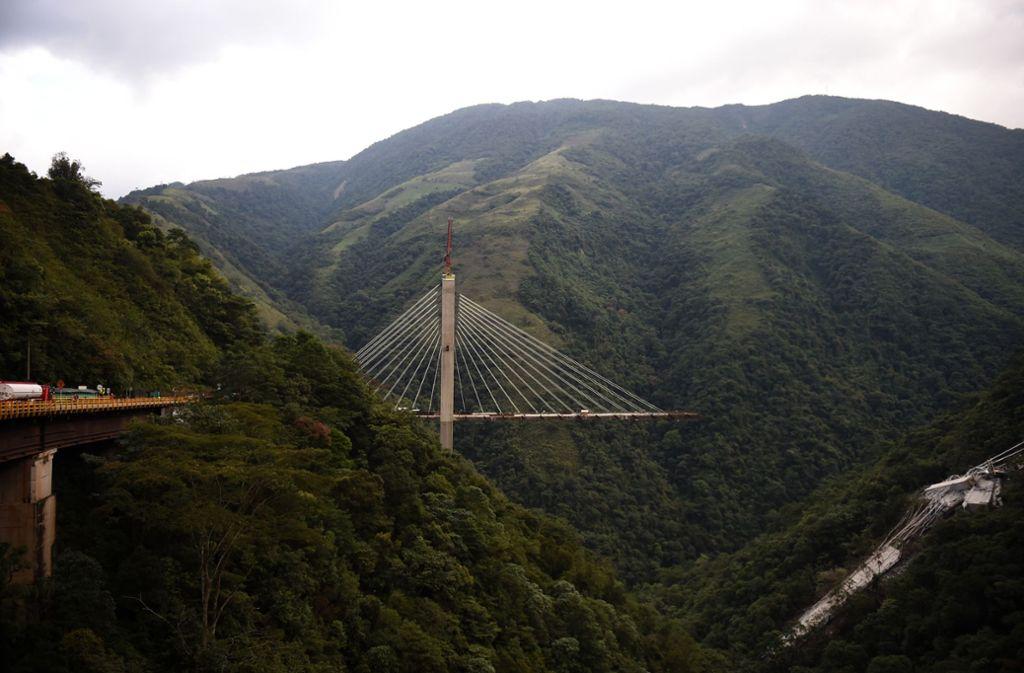 Kolumbien Brückeneinsturz