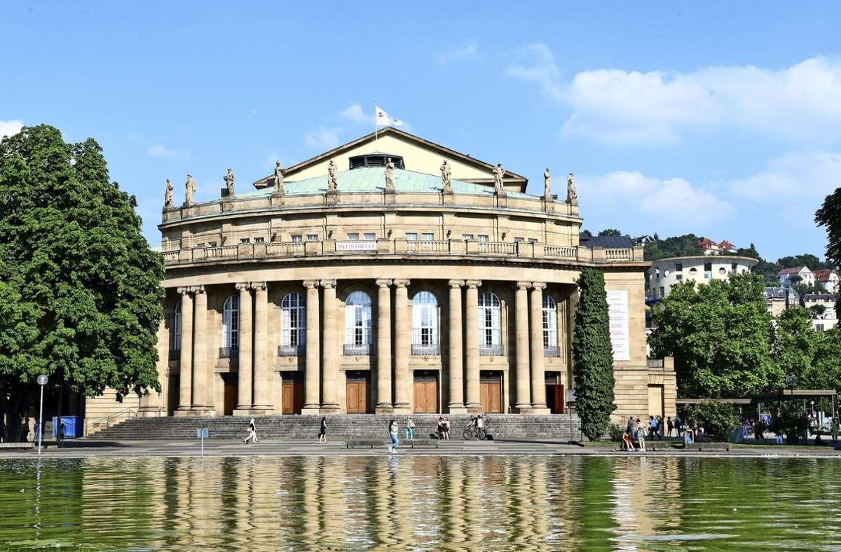 Das Bürgerforum zur Sanierung der Stuttgarter Staatsoper beginnt am 16. Oktober. Foto: dpa/Bernd Weissbrod
