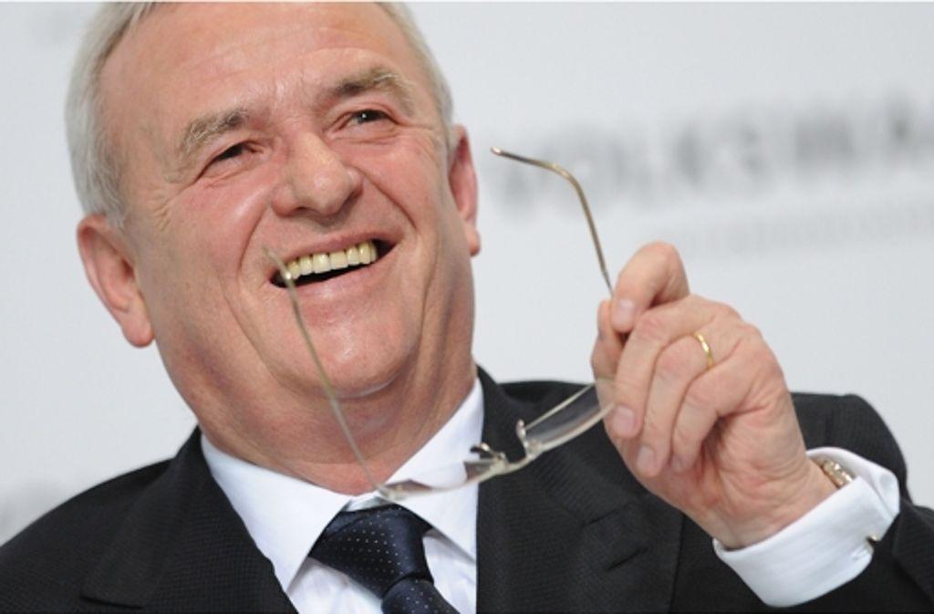 Martin Winterkorn ist Vorstandschef bei VW. Foto: dpa
