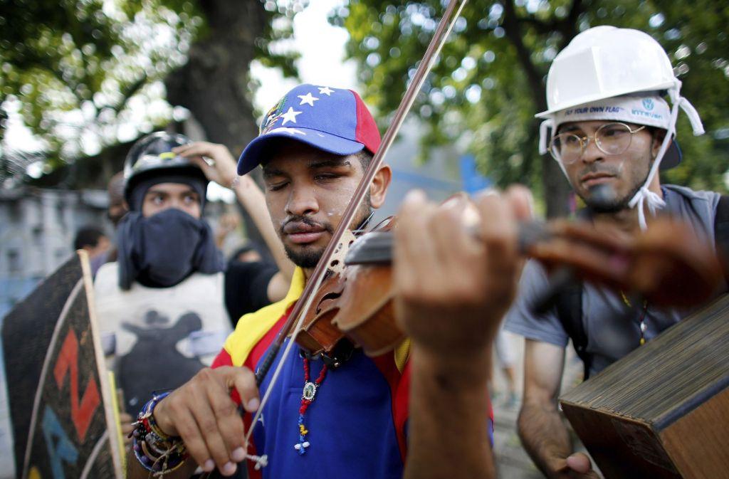 Venezuela steckt tief in einer Krise. Foto: AP