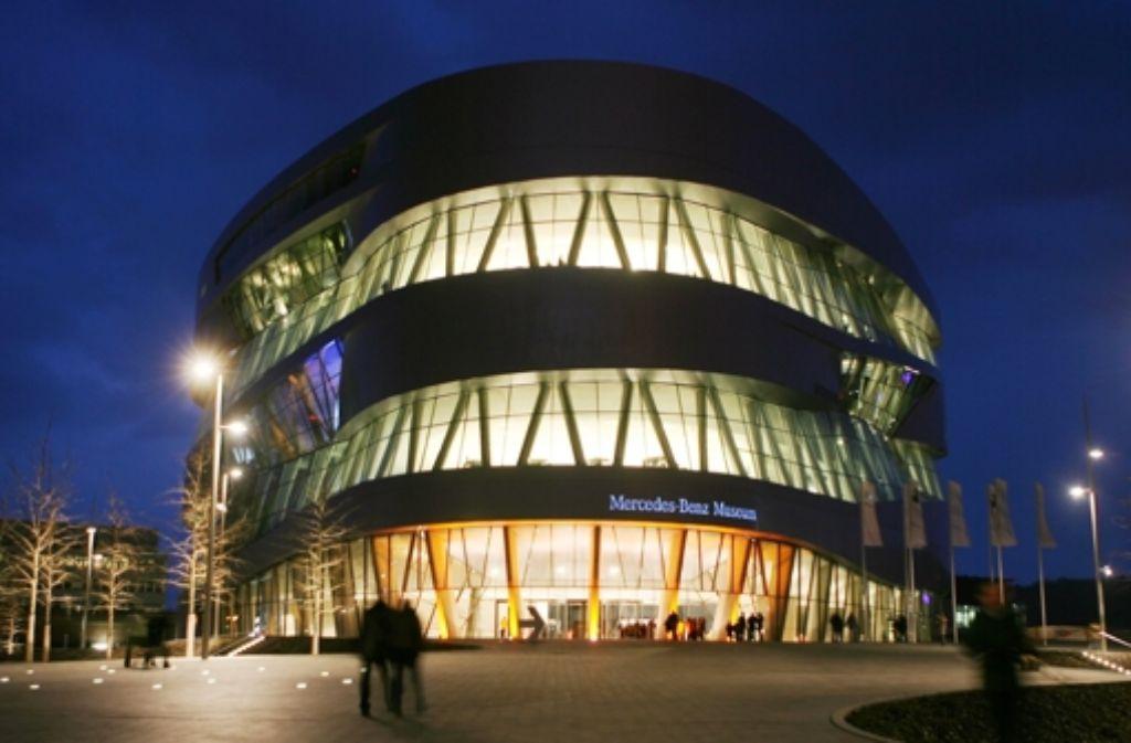 Zur 33. Social Media Night ins Mercedes-Benz-Museum lädt der Social Media Club Stuttgart. Foto: dpa