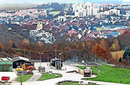 Empörung im Kreis Ludwigsburg: Deponie soll Jahrzehnte offen bleiben