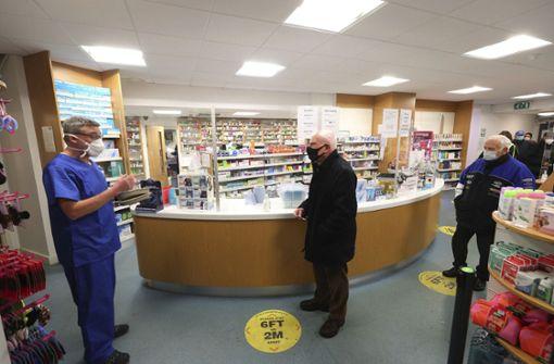 Großbritannien beginnt mit Impfungen in Apotheken