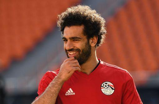 Ägyptens Topstar Mo Salah kann spielen