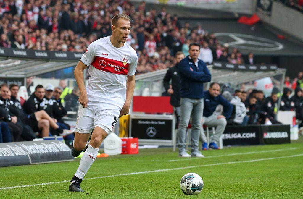 Holger Badstuber spielt im VfB-Trikot bisher eine starke Saison. Foto: Baumann