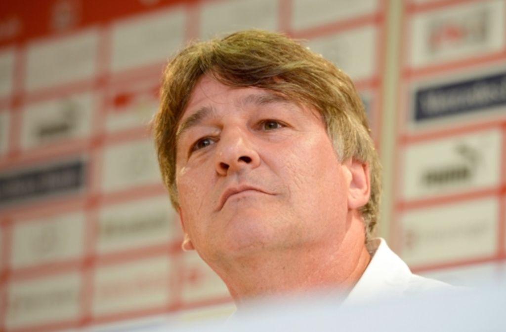 Bernd Wahler will den VfB in eine gute Zukunft führen. Foto: dpa