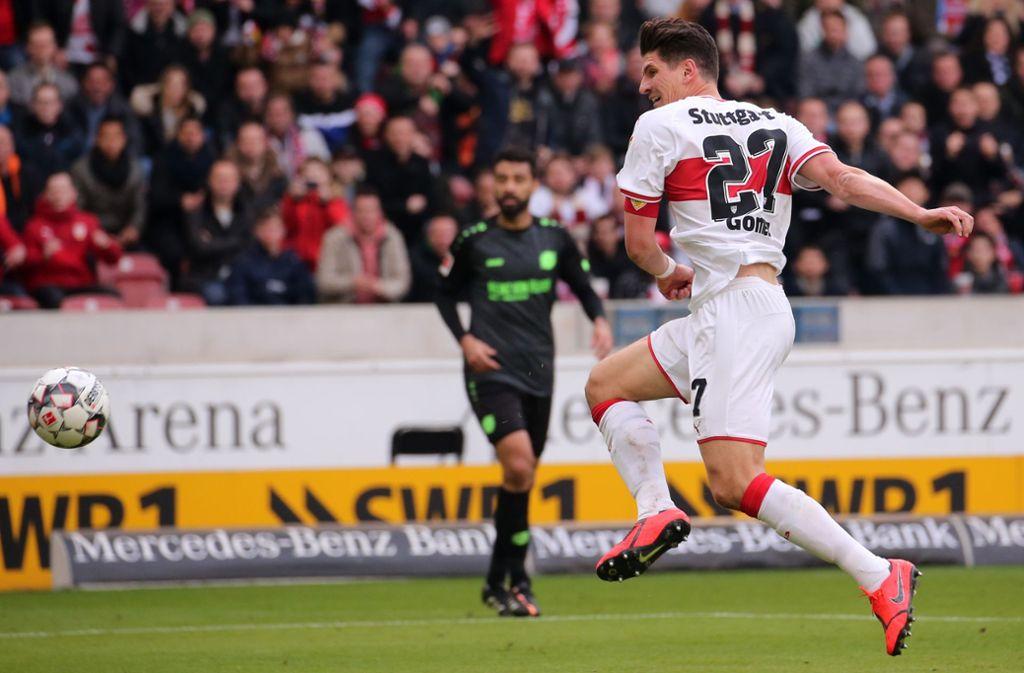 Mario Gomez soll für die Tore sorgen. Foto: Baumann