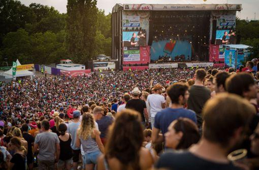 Tausende Besucher beim Auftakt des Open-Air-Events