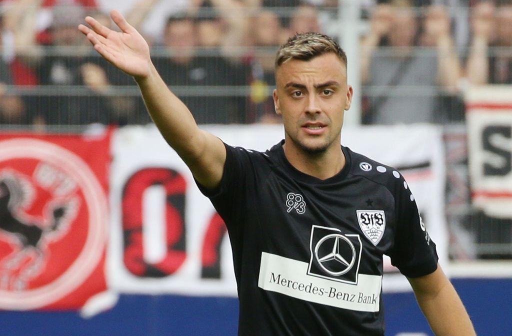 Nach fünf Jahren zurück beim VfB Stuttgart: Mittelfeldspieler Philipp Förster Foto: Baumann