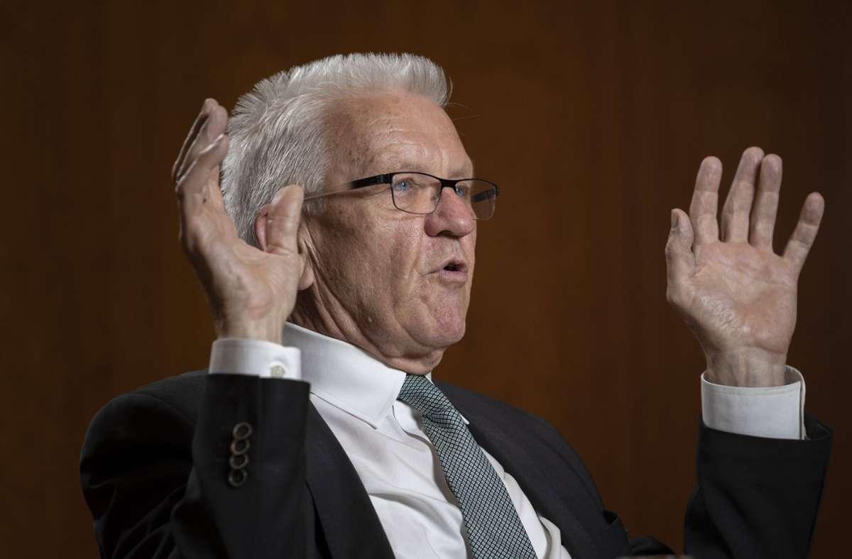 In den letzten Tagen musste Winfried Kretschmann viel Kritik einstecken (Archivbild). Foto: imago images/photothek/Thomas Imo/photothek.net