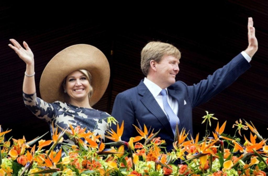 Es wird vorm Neuen Schloss die  Gelegenheit geben, dem Königspaar zuzujubeln. Foto: ANP