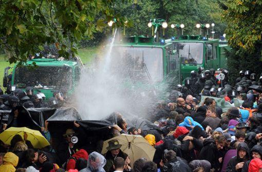 S21-Polizeiaktion im Schlossgarten wird erneut verhandelt